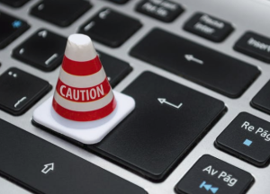 2017-03-05 21_29_35-White Caution Cone on Keyboard · Free Stock Photo